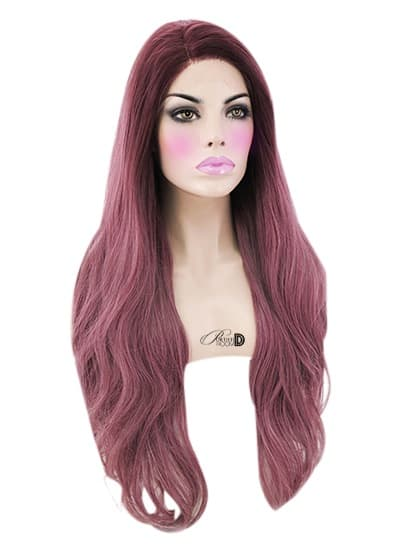 Sangria Lace Front Wig - Powder Room D
