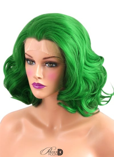 Green Lotus Lace Front Wig Powder Room D