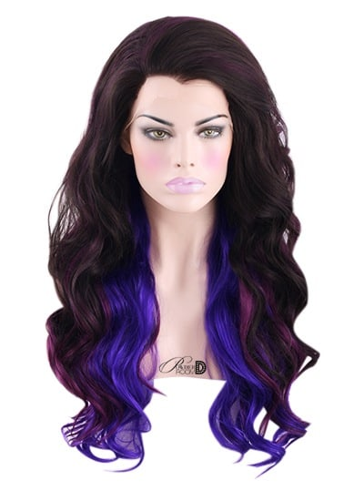 Purple Crush Lace Front Wig Powder Room D