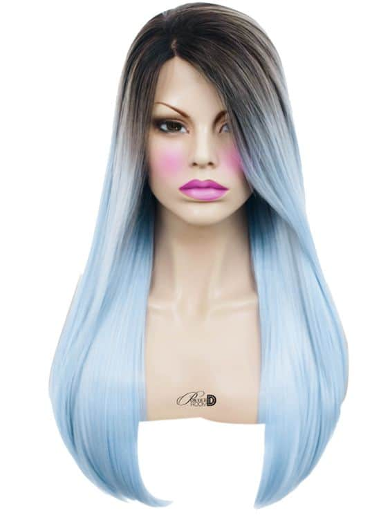 Snow Angel Lace Front Wig Powder Room D