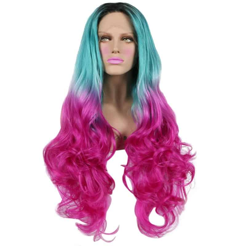 Flamingo Lace Front Wig - Powder Room D